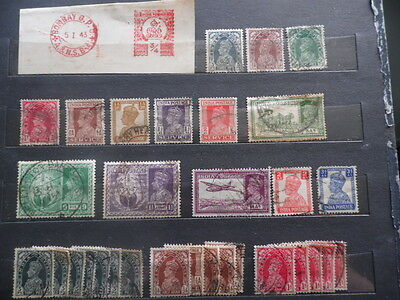 India ~ KGVI Mixed Used ~ Lot 3 ( June )