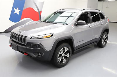 2015 Jeep Cherokee  2015 JEEP CHEROKEE TRAILHAWK 4X4 REAR CAM ALLOYS 28K MI #785486 Texas Direct
