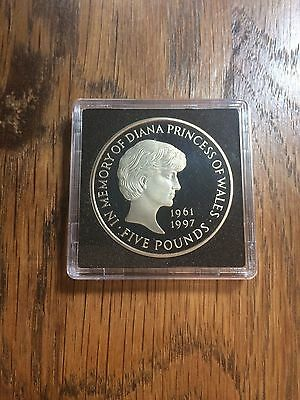 1999 In memory of Diana Princess of Wales PROOF five pounds £5 coin.
