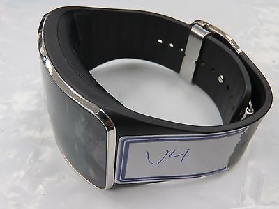 Samsung Galaxy Gear S Charcoal Black Stainless Steel Case Smartwatch(SM-R750)#V4
