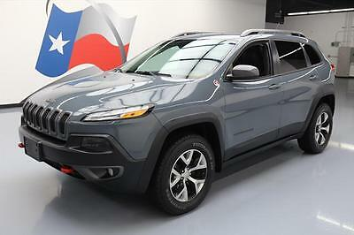 2014 Jeep Cherokee  2014 JEEP CHEROKEE TRAILHAWK 4X4 AUTO HTD SEATS NAV 34K #198630 Texas Direct