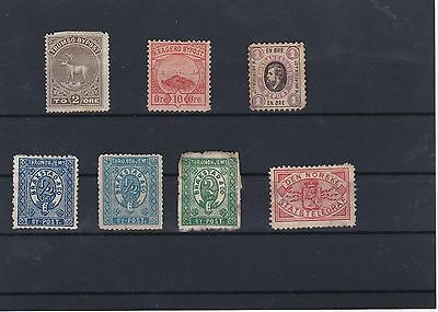 Norway Local Post Bypost Stamps Ref: R6196