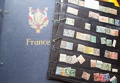 France Stamp Collection in Davo plus further stamps on Hagners