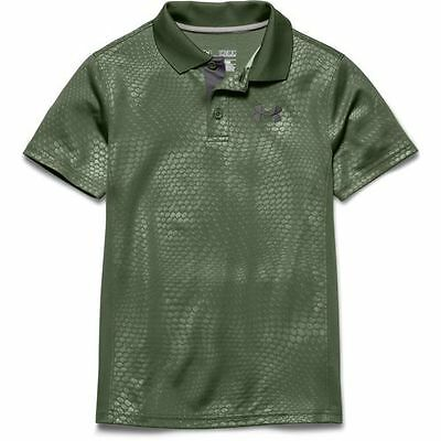 Under Armour Polo Shirt, Boy's Medium, UA Match Play, Golf New with Tags
