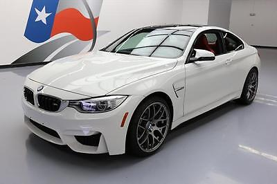2015 BMW M4  2015 BMW M4 COUPE TURBO CARBON ROOF NAV HTD LEATHER 15K #329301 Texas Direct
