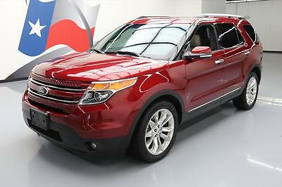 2014 Ford Explorer  2014 FORD EXPLORER LIMITED DUAL SUNROOF NAV LEATHER 44K #B00239 Texas Direct