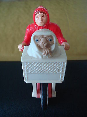 E.t. The Extra Terrestrial And Bicycle    1982. Made In Macao ( Quite Rare)