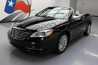 2014 Chrysler 200 Series Limited Convertible 2-Door 2014 CHRYSLER 200 LTD CONVERTIBLE HTD LEATHER NAV 31K #156657 Texas Direct Auto