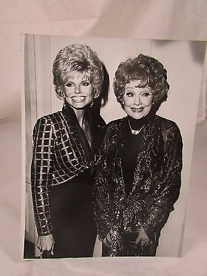 Vintage Original Publicity Photo 1987 Lucille Ball and Loni Anderson
