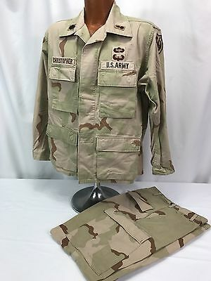 US Army Desert Camo Officers Blouse & Pants
