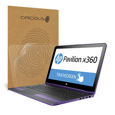 Celicious Matte HP Pavilion x360 15 Anti-Glare Screen Protector [Pack of 2]
