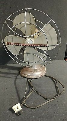 Vintage Westinghouse 12 Inch Oscillating Fan Cat No. 12 LA4 won't turn on