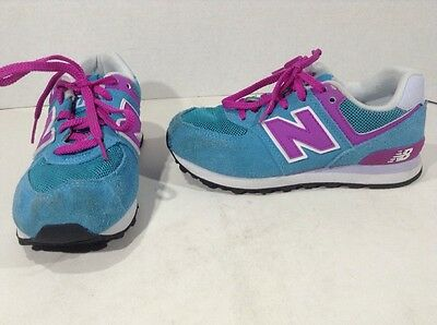NEW BALANCE Kids KL574P3P Blue Casual Walking Sneakers Shoes Size 12.5 Y ZH-1936