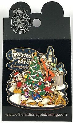 Disney Disneyland DLR Pin The Merriest Place on Earth 2003 FAB 6 Mickey Pluto