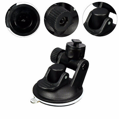 T Type Car Video Recorder Suction Cup Mount Bracket Holder Stand for Dash Cam NE