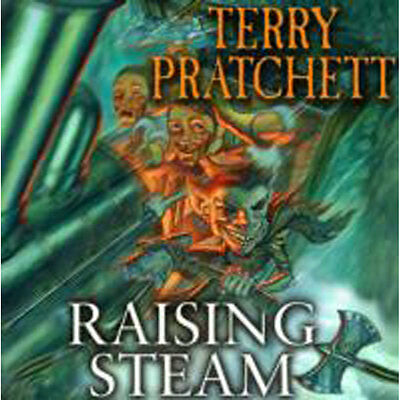 Raising Steam - Audio Book by Terry Pratchett (CD), Audio Books, Brand New