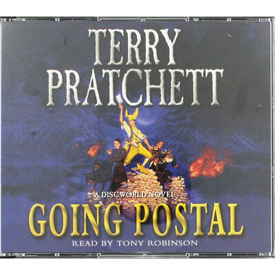 Going Postal - Audio Book by Terry Pratchett (CD), Audio Books, Brand New