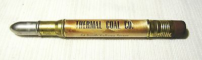 Vintage--Galesburg, Il.--Bullet Pencil--Thermal Coal Co.