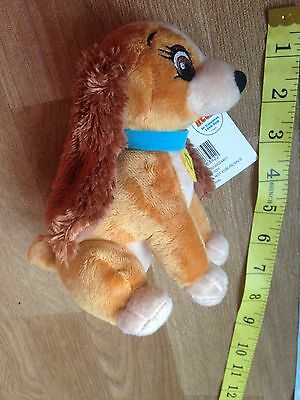 Disney Lady And The Tramp Soft Toy Dog