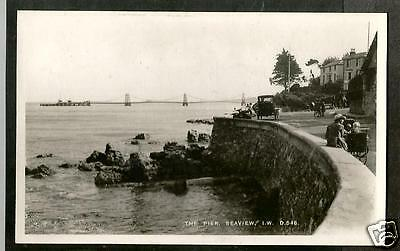 GXW Early Postcard, The Pier, Seaview, Isle of Wight