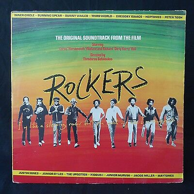 ROCKERS Original Soundtrack Spear Tosh Heptones ISLAND RARE UK Original LP