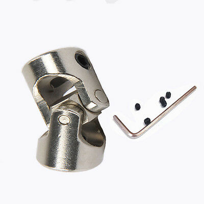 Universal Joint Multi Size Shaft Coupling Motor Sonnector DIY Stainless Steel