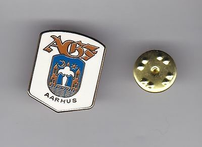 Aarhus ( Denmark ) - lapel badge butterfly fitting