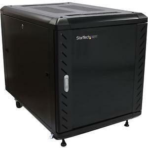 NEW! Startech 12U 36In Knock-Down Server Rack Cabinet With Casters Easy To Trans