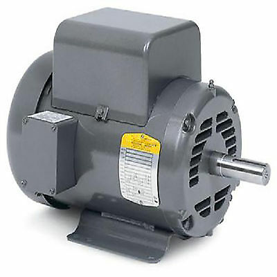 5Hp 3450 Rpm Air Compressor Motor 1 1/8 60Hz Odp Protection 208/230 Vac Good