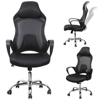 Adjustable Swivel Bucket Seat Racing Car Style Office Chair Mesh Desk Chair  New