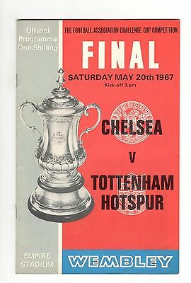 Chelsea v Tottenham Spurs 1967  FA Cup Final at Wembley