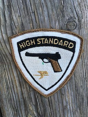 HIGH STANDARD hunting gun patch 1970s