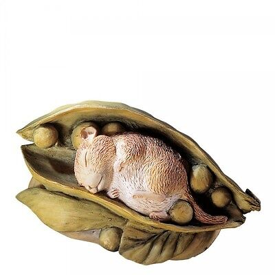 Beatrix Potter Timmy Willie In Pea Pod Mini Figurine 643920