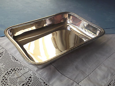 Vintage A1 Silver Plate Oblong Serving Dish 35466 Made in England VGC