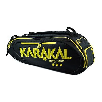 Karakal Pro Tour Comp 9 Racket Bag For Squash Badminton Tennis
