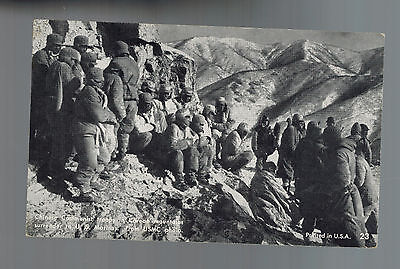 Mint RPPC Postcard USMC Marines Capture China Soldiers During Korean War POW