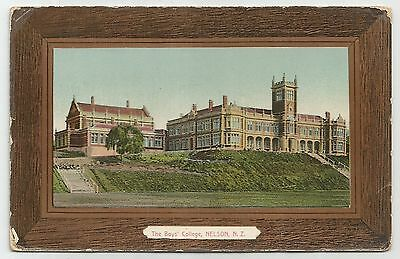 sa new zealand postcard nelson college