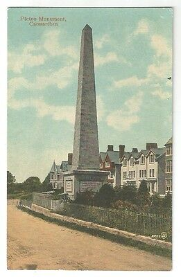 sa wales welsh postcard carmarthen