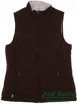 New Womens Sport Haley Golf Reversible Vest Large L Multi MSRP $70