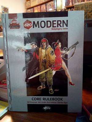 D20 Modern Core Rulebook Wizards of the Coast WotC RPG