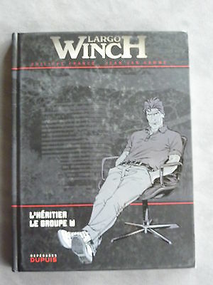 LARGO WINCH Double Album *** L'HERITIER et LE GROUPE W *** REPERAGES DUPUIS