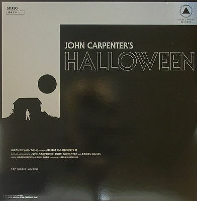 "CARPENTER, John - Halloween/Escape From New York (Soundtrack) - Vinyl (12"")"