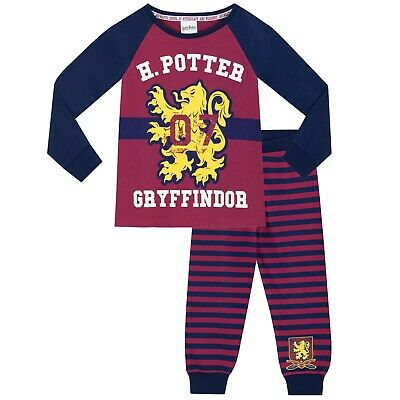 Girls Harry Potter Pyjamas | Kids Harry Potter PJs | Quidditch Pyjama Set | NEW