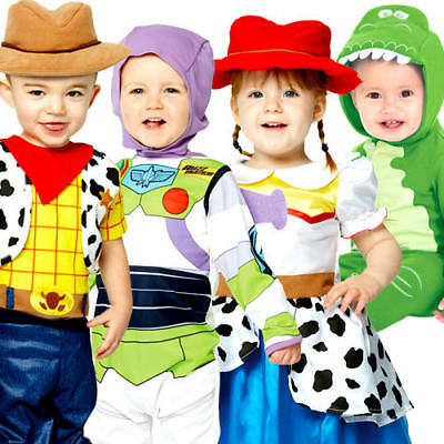 Toy Story Infants Fancy Dress Disney Book Day Toddler Kids Childrens Costume New