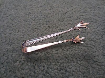 Sterling Silver Sugar Tongs By Alvin Nice