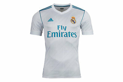 adidas Real Madrid 17/18 Home LFP S/S Replica Football Shirt