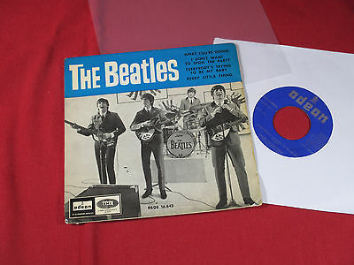 The Beatles  WHAT YOU'RE DOING + 3 -- 7'' EP EMI Odeon DSOE 16.642 Spain 1964