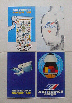 Airline-Issued Postcard Set / Air France / Air France Cargo