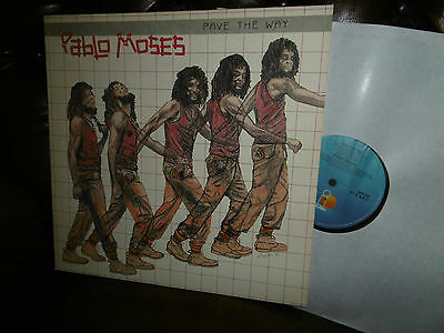 "Pablo Moses, Pave The Way, REGGAE German Island 204 220-320, LP, 12"" 1981"