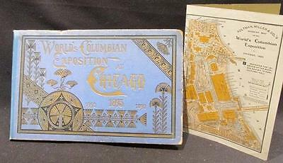 World's Columbian Exposition Chicago 1893 Central News Panorama Style Book & Ad